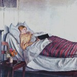 Michael Ancher -The Sick Girl-